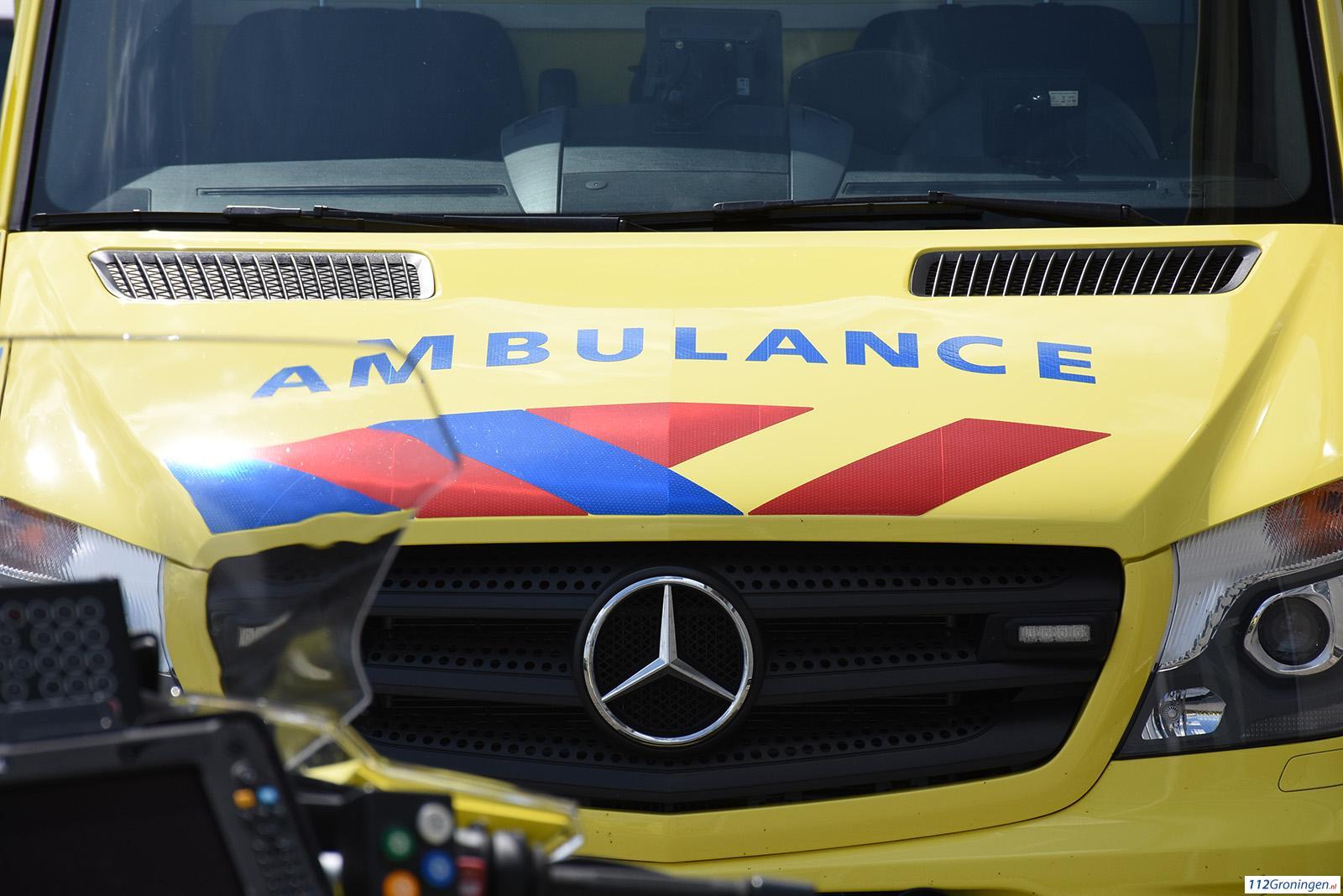 Meisje raakt gewond na aanrijding in Veendam.