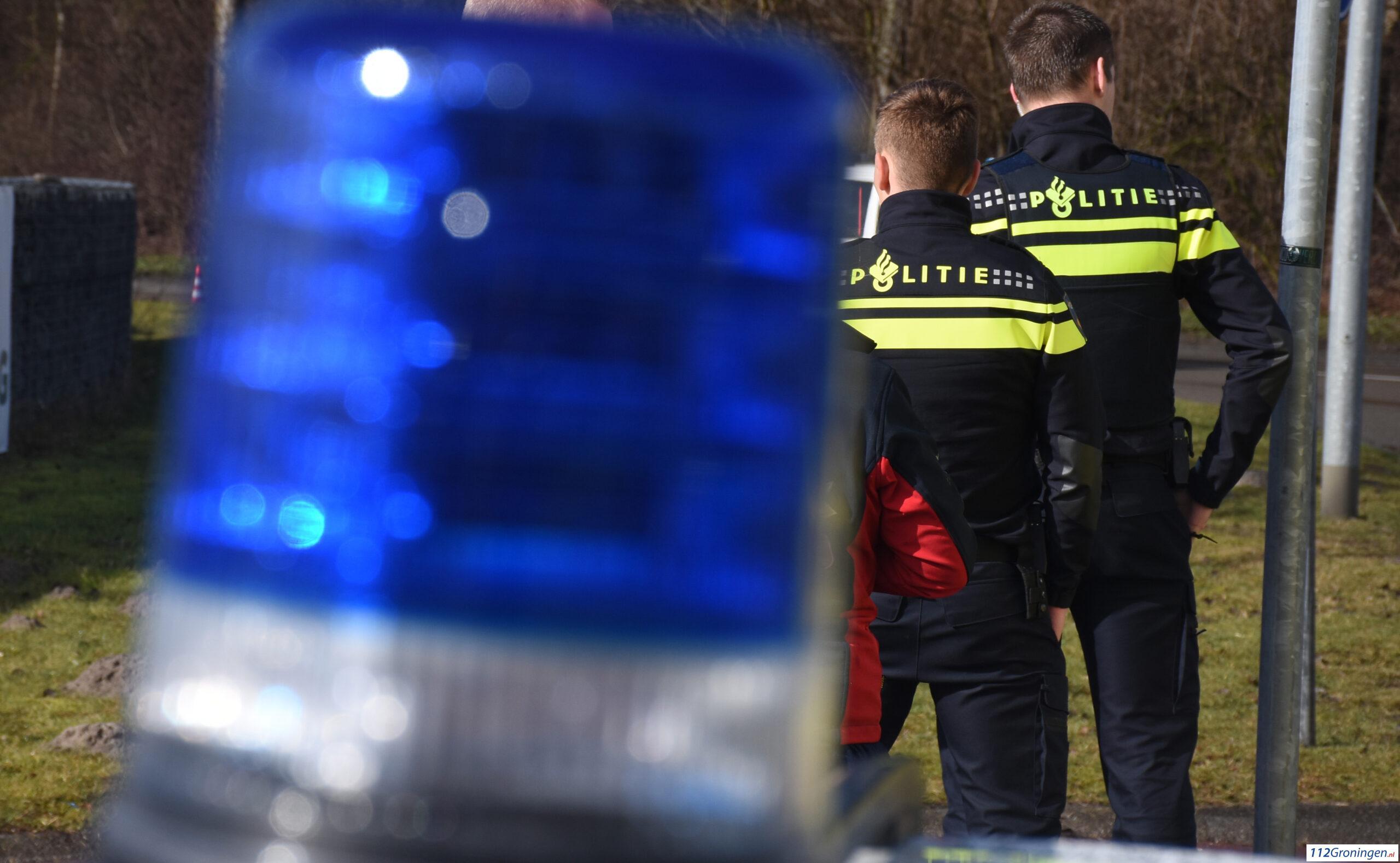 Man gewond bij ernstig ongeval Hoofdweg bij Meerstad.