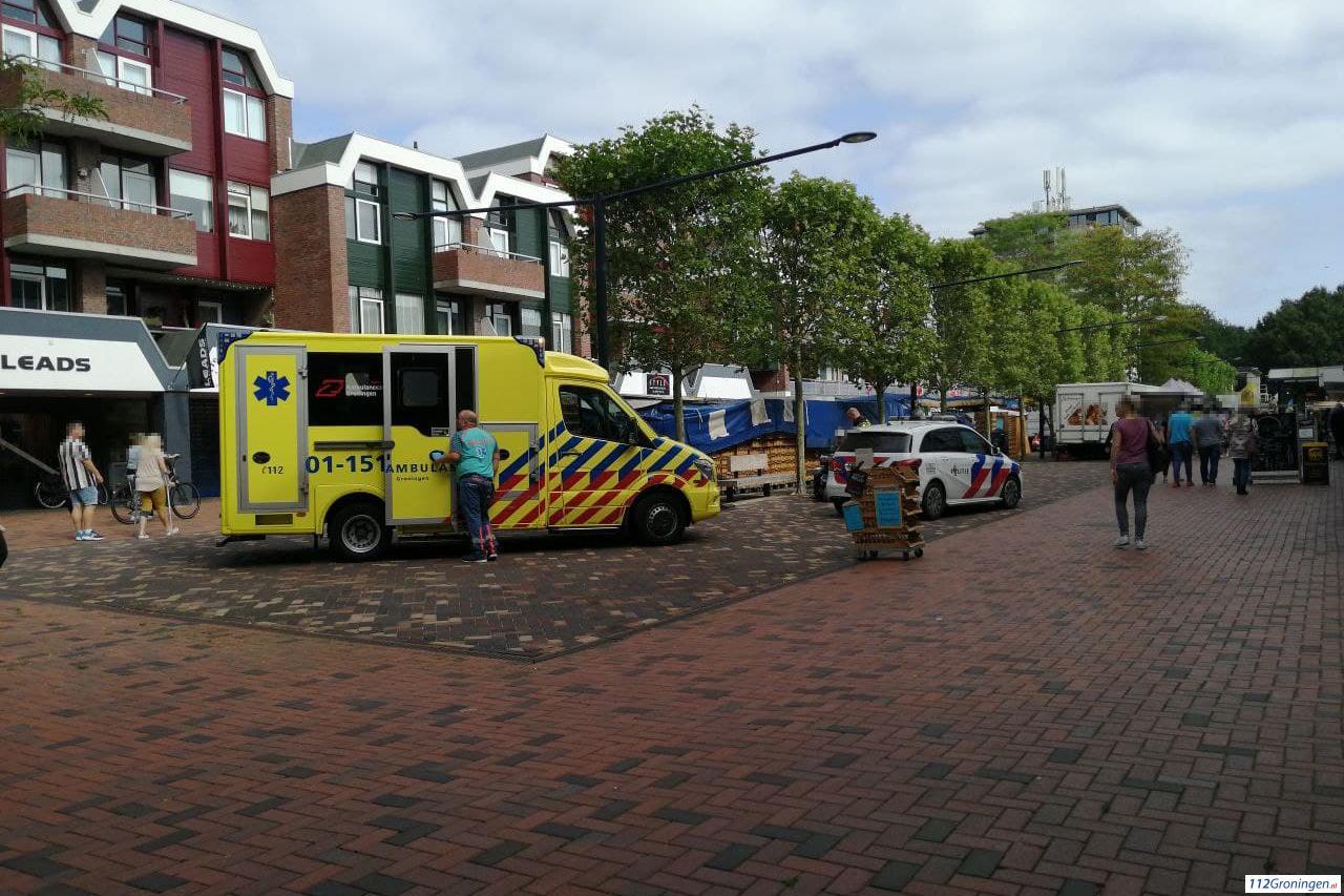 Kind aangereden door scootmobiel in Stadskanaal.