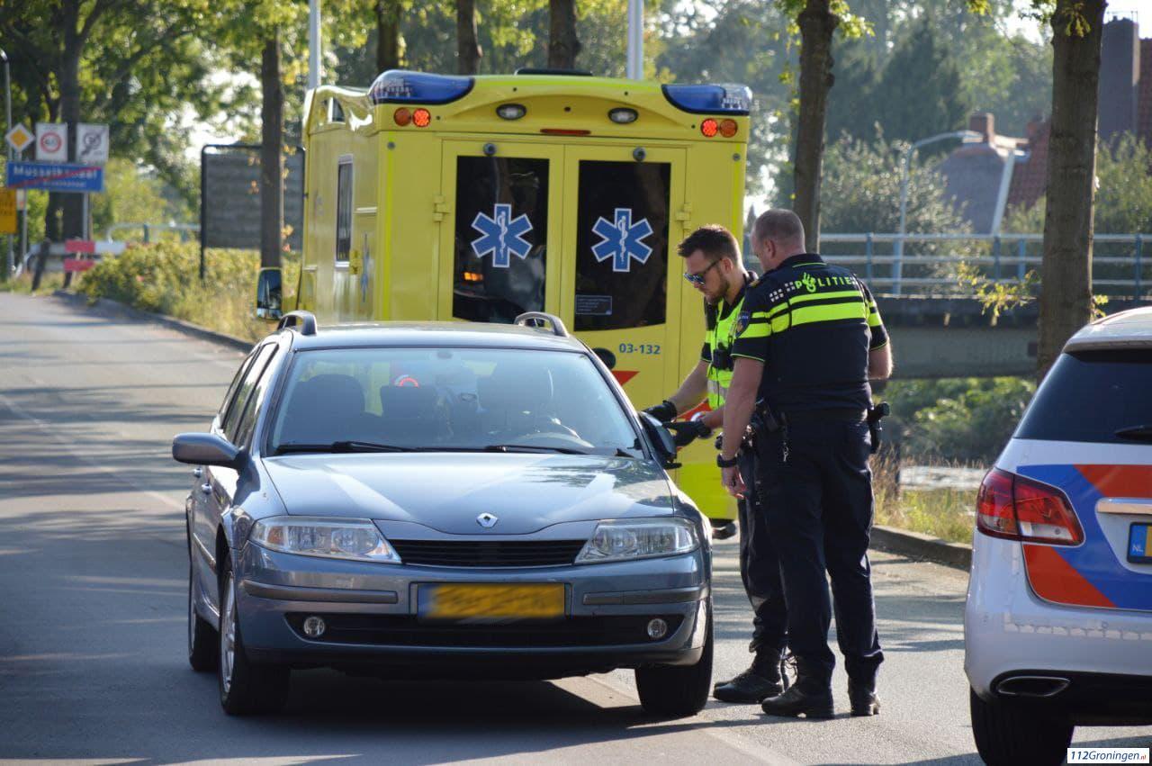 Fietser gewond bij aanrijding met auto in Musselkanaal.