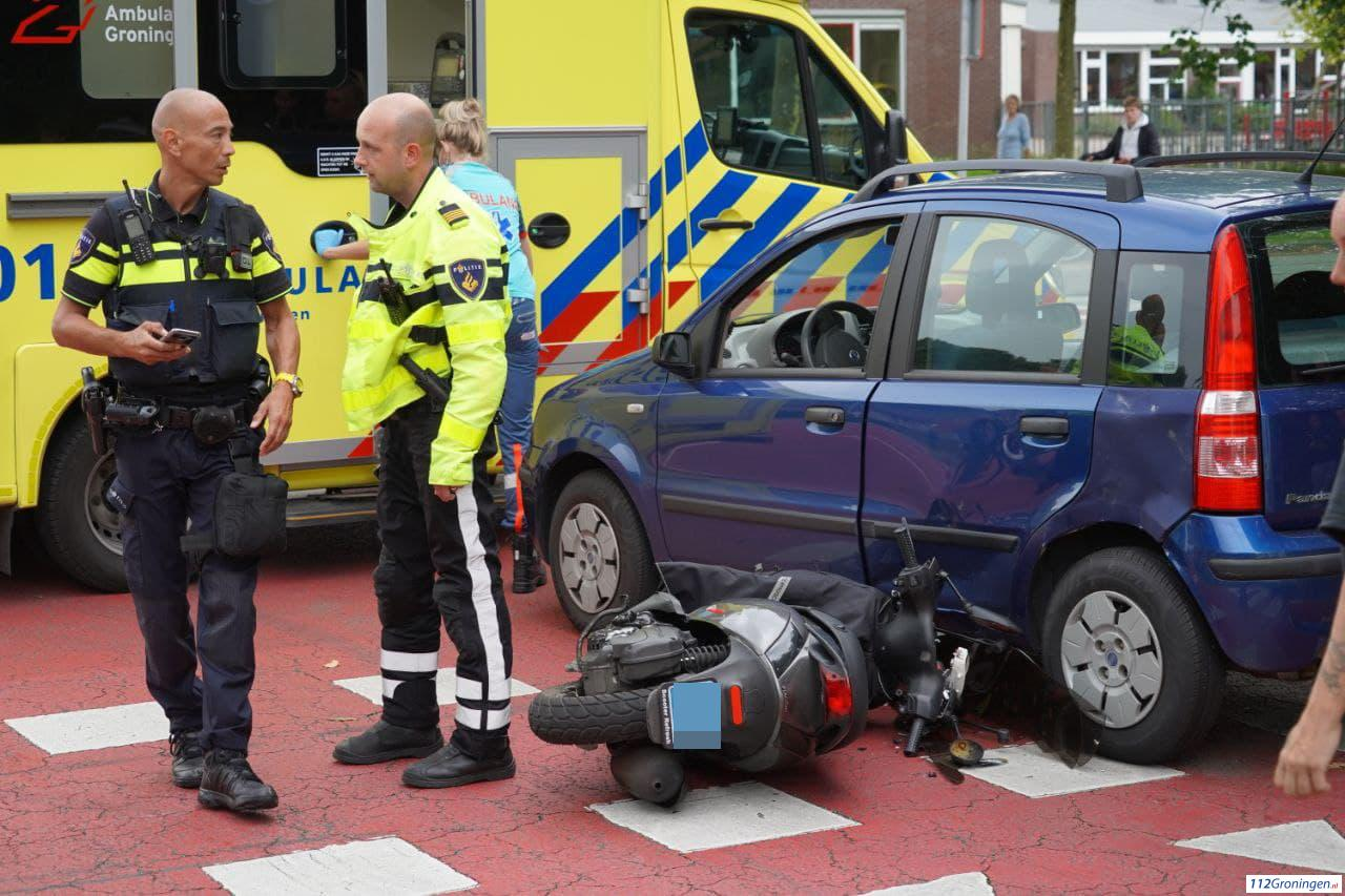 Twee gewonden bij ongeval Emigaheerd Beijum.