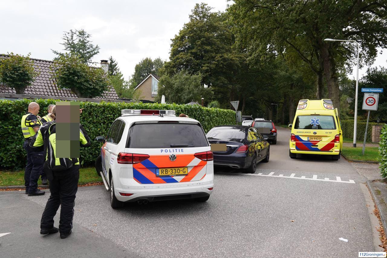 Ongeval letsel Rijksstraatweg Glimmen.