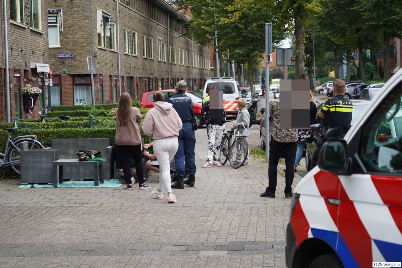 Kind gewond na ongeval tussen fiets/ scooterrijder.
