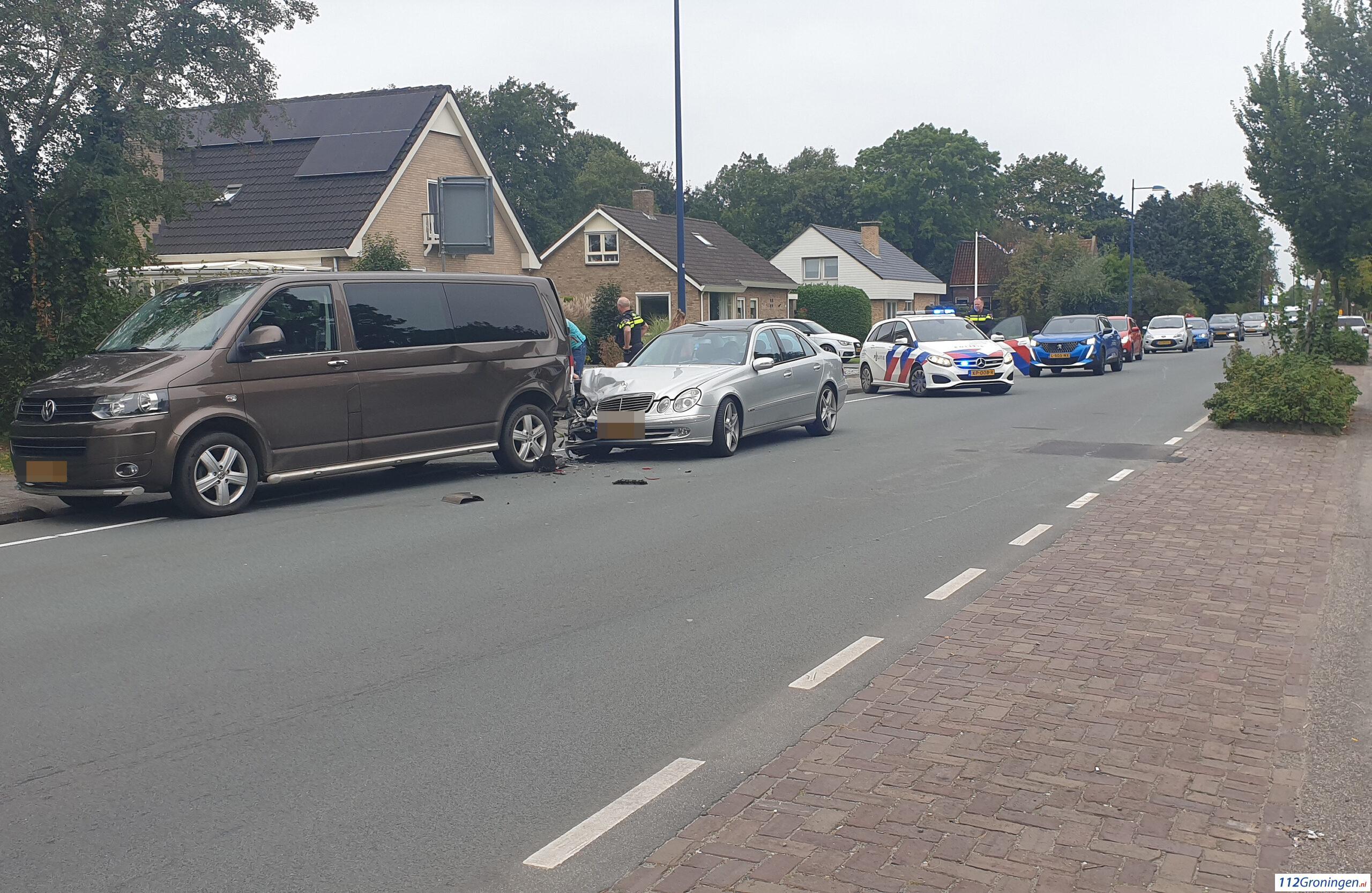 Ongeval letsel Noorderweg Marum.