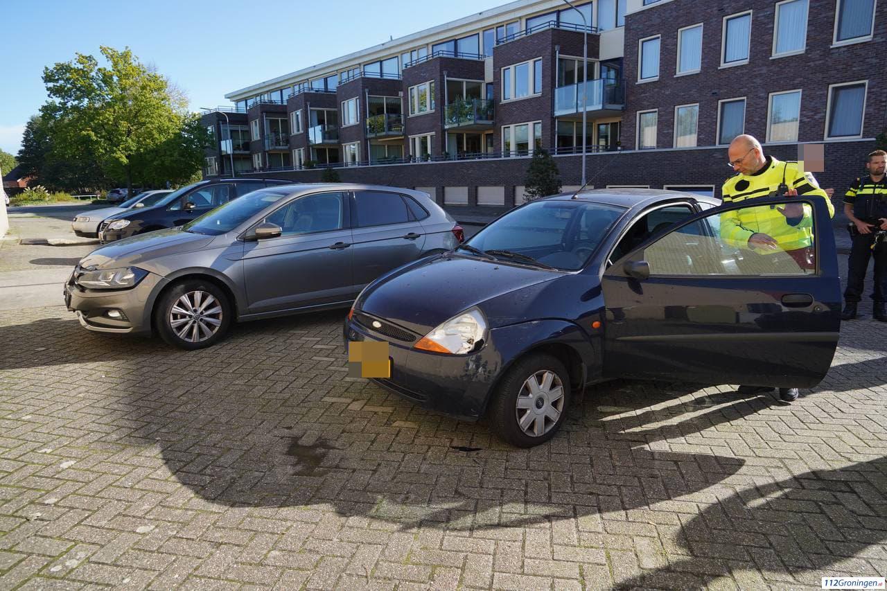 Ongeval tussen twee voertuigen in Nietap.
