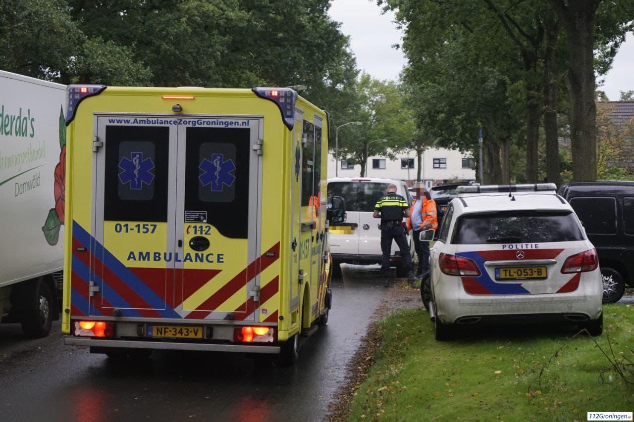 Bezorgfietser raakt gewond bij aanrijding met auto Tolbert.