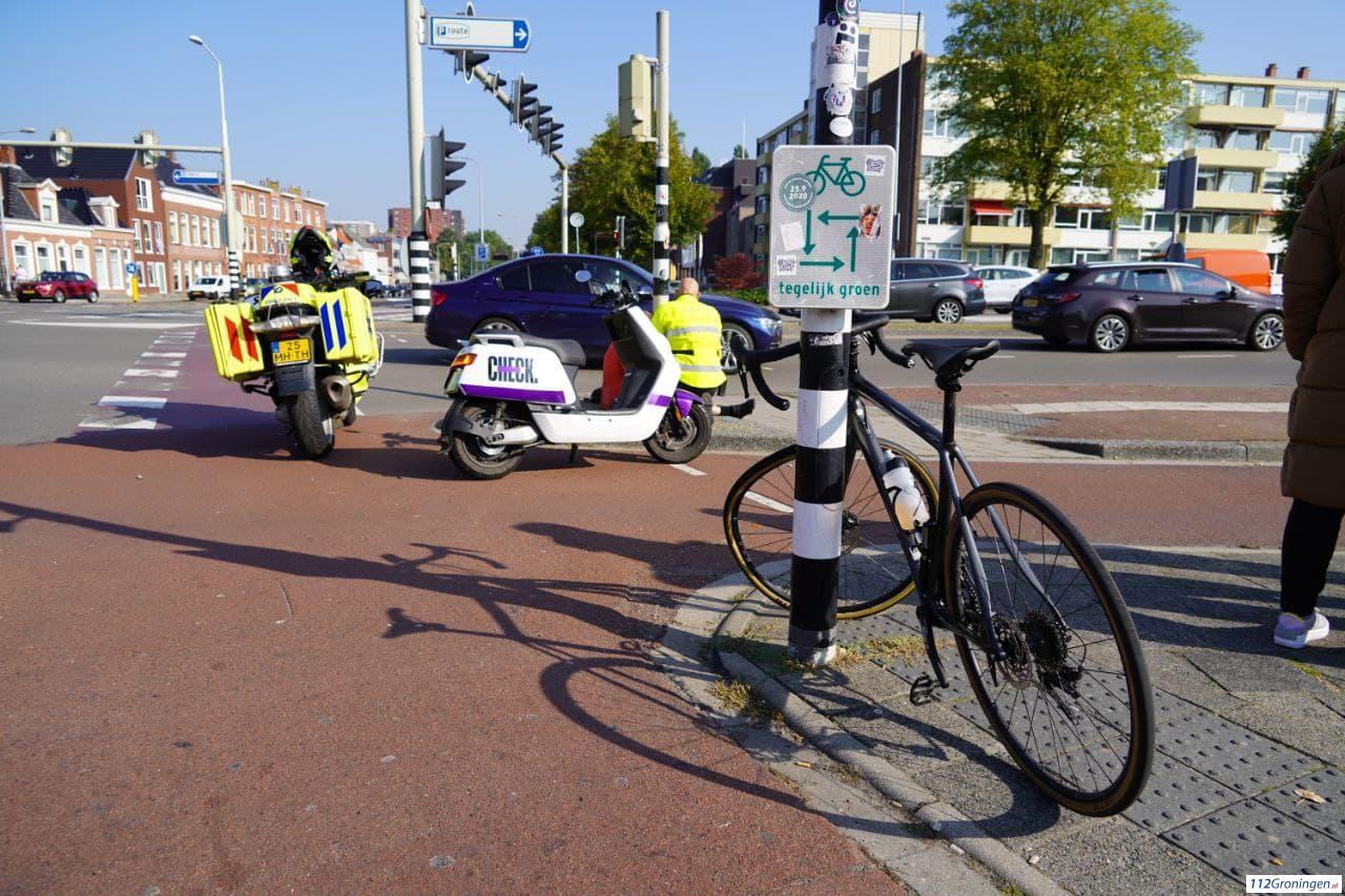 Wielrenner raakt gewond bij aanrijding Europaweg.